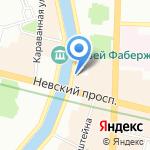 Сантехник на карте Санкт-Петербурга