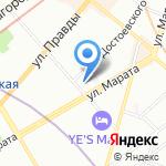 Центр социальной реабилитации инвалидов и детей-инвалидов Центрального района на карте Санкт-Петербурга