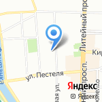 Санкт-Петербургский Дом национальностей на карте Санкт-Петербурга