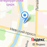 АДН на карте Санкт-Петербурга