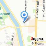 Смарт Фемко на карте Санкт-Петербурга
