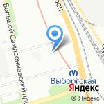 Следственный отдел по Выборгскому району на карте Санкт-Петербурга