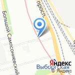 BRO`bike Shop на карте Санкт-Петербурга