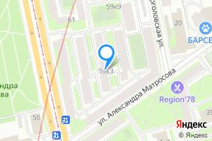 Комната в четырехкомнатной квартире в Санкт-Петербурге м. Лесная, Лесной проспект, 59к3