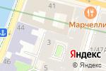 Схема проезда до компании Северный Город в Санкт-Петербурге
