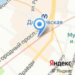 MARUHA на карте Санкт-Петербурга