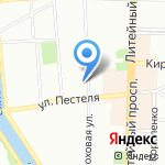 Арт Петербург на карте Санкт-Петербурга