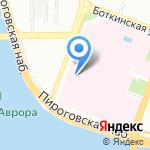 Женская консультация на карте Санкт-Петербурга