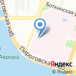 Клиника общей хирургии на карте Санкт-Петербурга