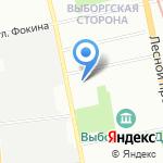 Центр ремонта стиральных машин на карте Санкт-Петербурга