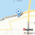Honka на карте Санкт-Петербурга