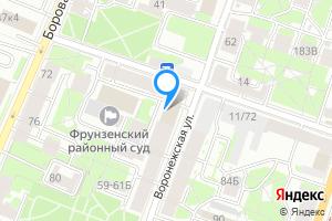 Студия в Санкт-Петербурге Воронежская ул., 53к1