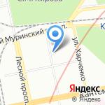 Гео-Мастер на карте Санкт-Петербурга