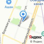 Delta Development на карте Санкт-Петербурга