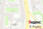 Схема проезда до компании ДВК Триплекс в Санкт-Петербурге