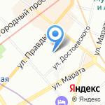 Центр внешкольной работы на карте Санкт-Петербурга