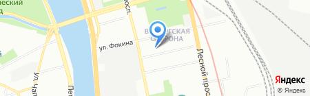 Шиномонтажная мастерская в Нейшлотском переулке на карте Санкт-Петербурга