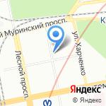 СПб Книготорговая Компания на карте Санкт-Петербурга