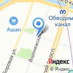 Мастерская авторского костюма на карте Санкт-Петербурга