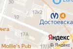 Схема проезда до компании FlyPrint Online в Санкт-Петербурге