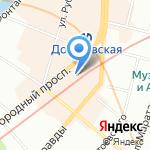 Чуфальня на карте Санкт-Петербурга
