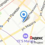 Unit post на карте Санкт-Петербурга