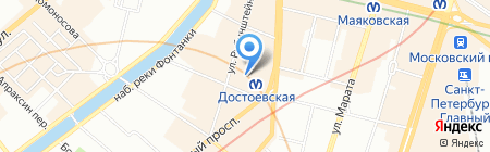 SelfX на карте Санкт-Петербурга