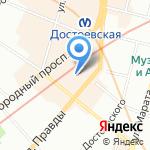 EgoRound на карте Санкт-Петербурга