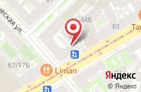 Схема проезда до компании Строительно-Монтажное Управление-151 в Санкт-Петербурге