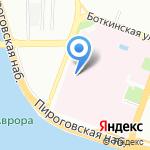 Клиника госпитальной терапии на карте Санкт-Петербурга