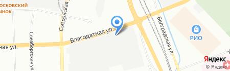 Интеллект 4 ДЖИ на карте Санкт-Петербурга