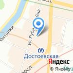 Чайный Дом на карте Санкт-Петербурга