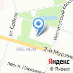 Специальная коррекционная школа-интернат №33 для слабослышащих детей на карте Санкт-Петербурга