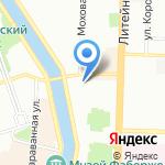 Oliver Pub на карте Санкт-Петербурга