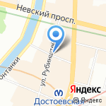 Калейдоскоп на карте Санкт-Петербурга
