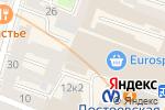 Схема проезда до компании Sweet Biscuit в Санкт-Петербурге