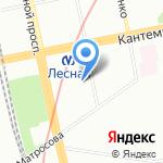 Православная церковь Святого Праведного Иоанна Кронштадтского на карте Санкт-Петербурга
