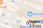 Схема проезда до компании Лабиринт. Российские дизайнеры в Санкт-Петербурге