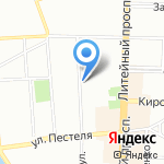 БалтОхранСоюз на карте Санкт-Петербурга