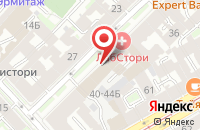Схема проезда до компании Служба Времени в Санкт-Петербурге