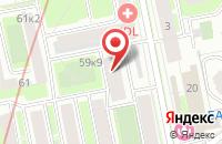 Схема проезда до компании Турайдиас.Ру в Санкт-Петербурге