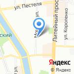 Политехнический техникум на карте Санкт-Петербурга