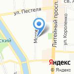 Диагностический центр №7 на карте Санкт-Петербурга