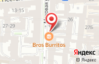 Схема проезда до компании Партнеры в Санкт-Петербурге