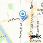 Эдванс на карте Санкт-Петербурга