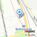 Адвокатская консультация №76 на карте Санкт-Петербурга
