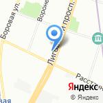 Comfitel Hotel Group на карте Санкт-Петербурга