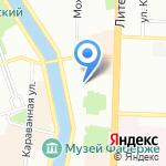 Санкт-Петербургский оперный театр детей им. Галины Вишневской на карте Санкт-Петербурга