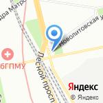 Северная Компания на карте Санкт-Петербурга