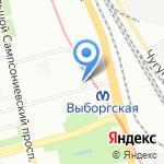 Воскресенье на карте Санкт-Петербурга